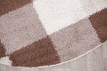 Checked Shaggy Turkish Oriental Rugs image 18