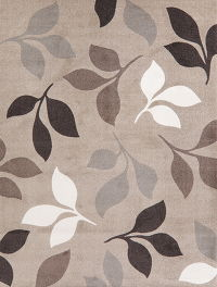 Natural Print Brown Modern Turkish Area Rug 8x10