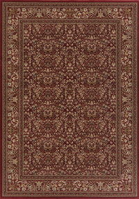 Floral Red Aubusson Turkish Oriental Area Rug 8x11