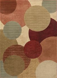 Multi-Color Modern Turkish Oriental Area Rug 8x11