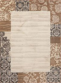 Beige Modern Turkish Oriental Area Rug 8x11