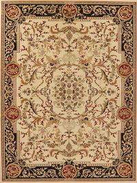 Floral Oushak Turkish Oriental Area Rug 8x11