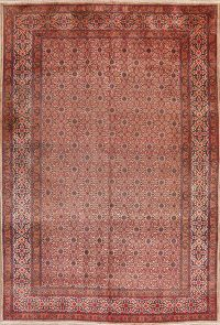 Vintage All-Over Mood Persian Wool Area Rug 7x10
