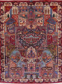 Dynasty Pictorial Kashmar Persian Wool Area Rug 10x13