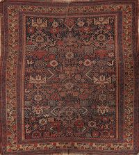 Pre-1900 Antique Vegetable Dye Afshar Persian Area Rug 4x6