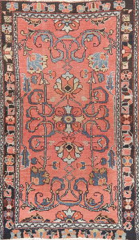 Antique Vegetable Dye Lilian Hamedan Persian Rug 2x4
