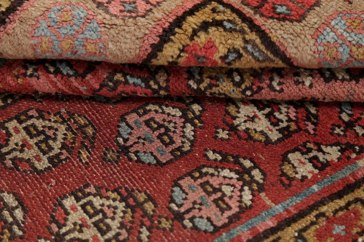 Pre-1900 Antique Vegetable Dye Malayer Persian Rug 3x8 image 18