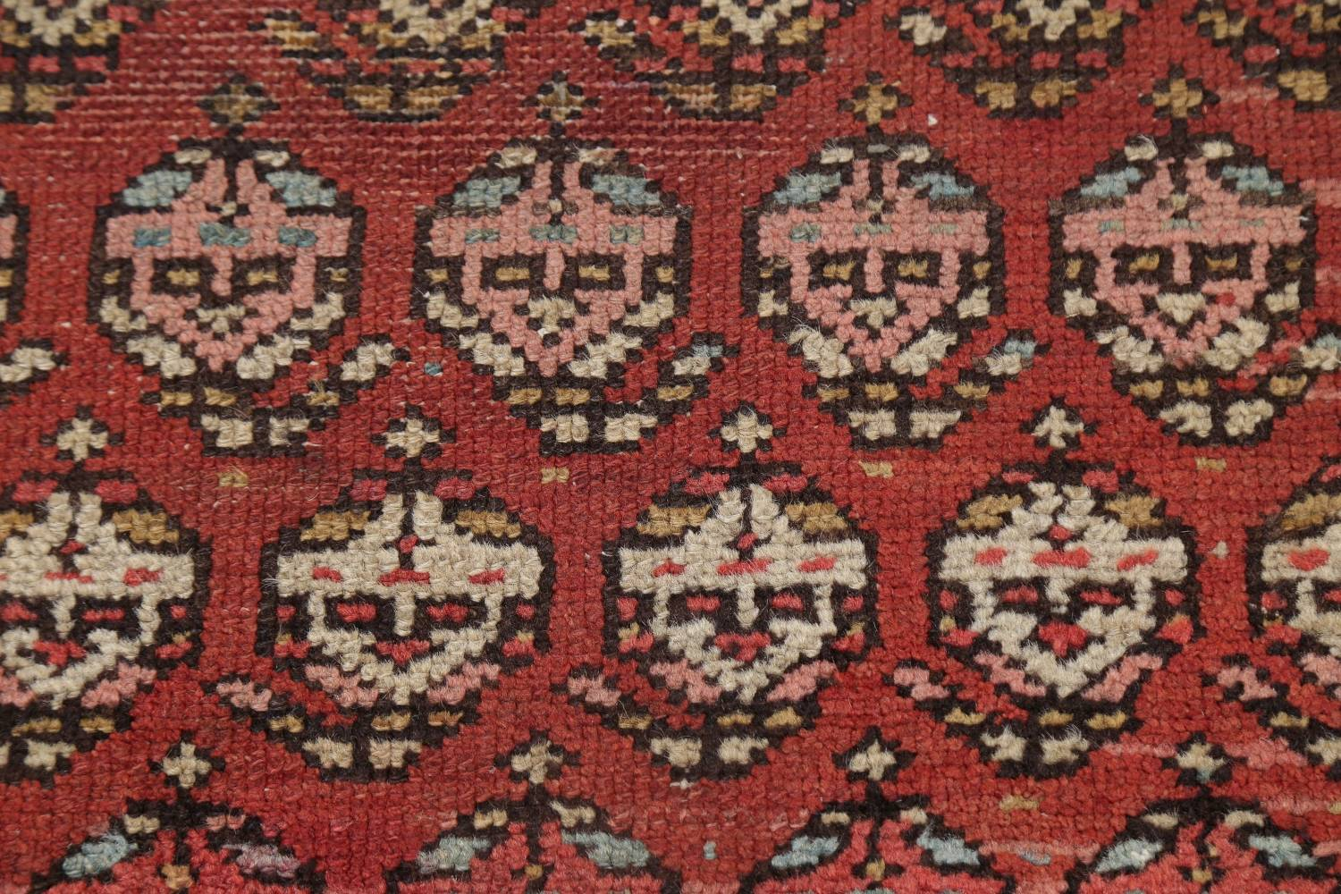 Pre-1900 Antique Vegetable Dye Malayer Persian Rug 3x8 image 9