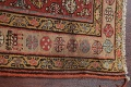 Pre-1900 Antique Vegetable Dye Malayer Persian Rug 3x8 image 15