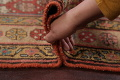 Pre-1900 Antique Vegetable Dye Malayer Persian Rug 3x8 image 21