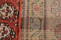 Pre-1900 Antique Vegetable Dye Malayer Persian Rug 3x8 image 23