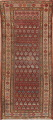 Pre-1900 Antique Vegetable Dye Malayer Persian Rug 3x8 image 1