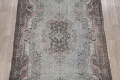 Antique Muted Distressed Aubusson Oriental Area Rug 6x10 image 3