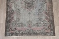 Antique Muted Distressed Aubusson Oriental Area Rug 6x10 image 8