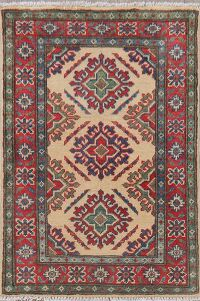 Geometric 2x3 Super Kazak Area Rug