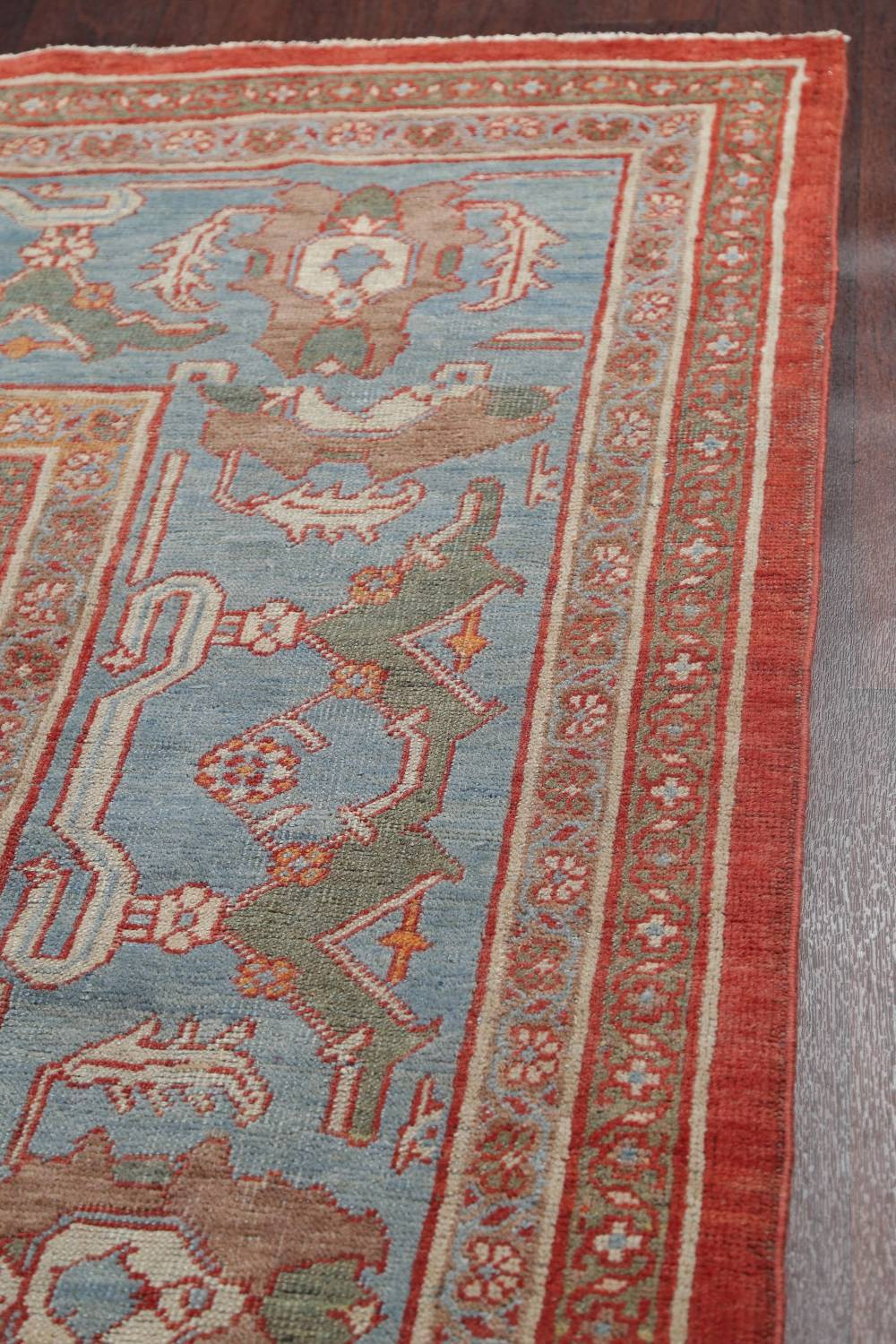 Palace Size Pre-1900 Antique Sultanabad Persian Rug 14x24 image 16