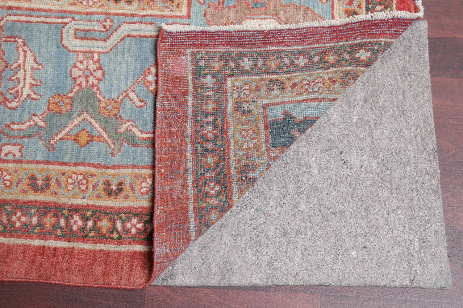 Palace Size Pre-1900 Antique Sultanabad Persian Rug 14x24 image 7