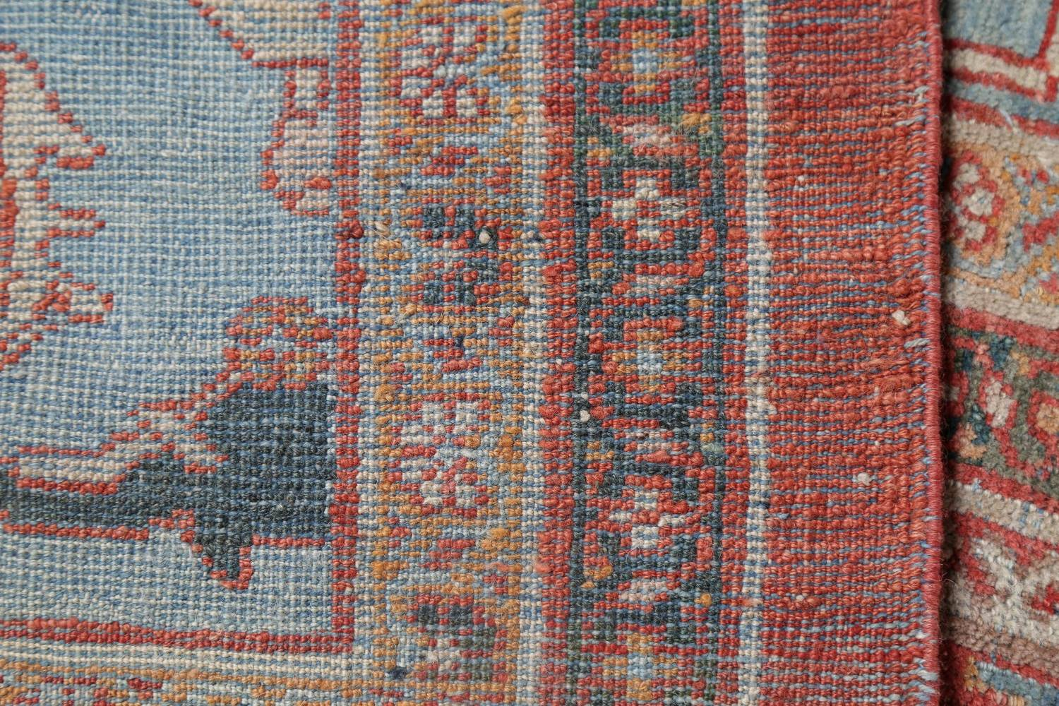 Palace Size Pre-1900 Antique Sultanabad Persian Rug 14x24 image 24