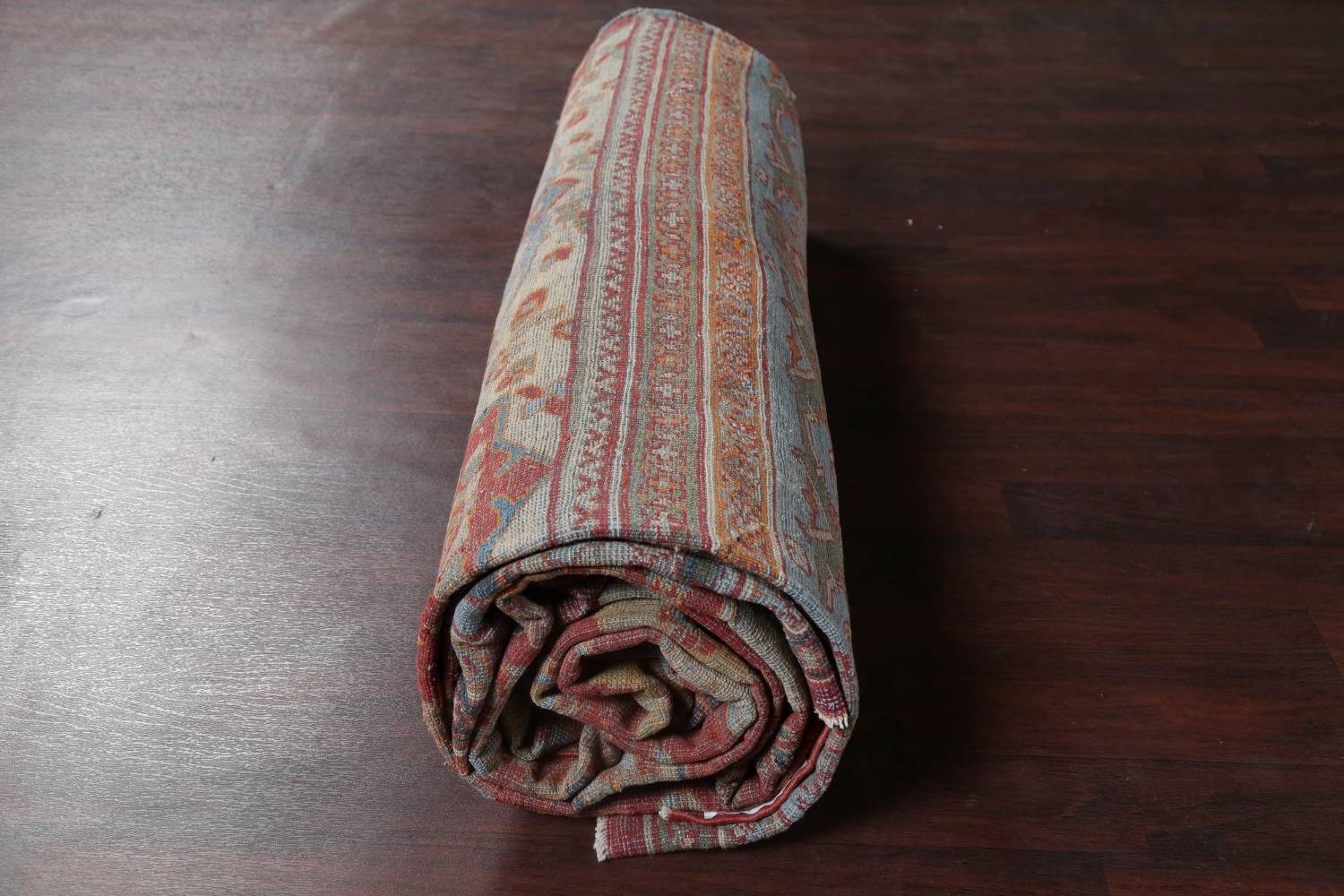Palace Size Pre-1900 Antique Sultanabad Persian Rug 14x24 image 25