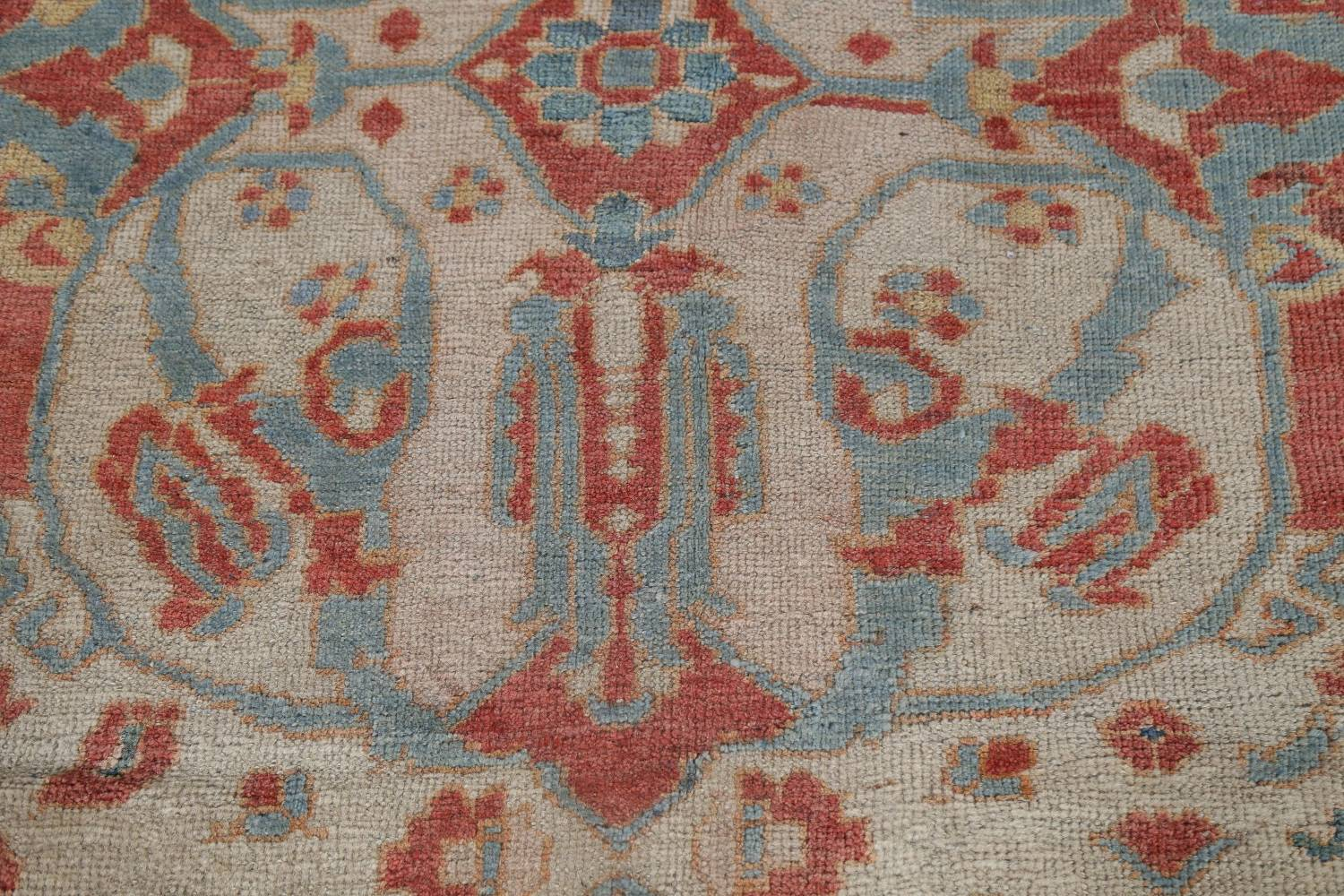 Palace Size Pre-1900 Antique Sultanabad Persian Rug 14x24 image 10