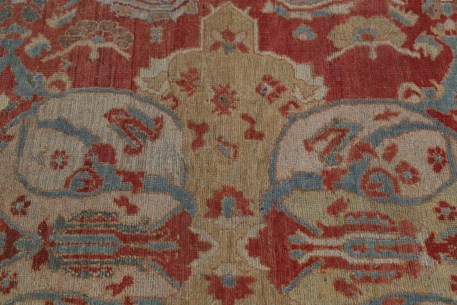 Palace Size Pre-1900 Antique Sultanabad Persian Rug 14x24 image 13
