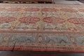 Palace Size Pre-1900 Antique Sultanabad Persian Rug 14x24 image 17
