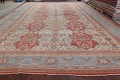 Palace Size Pre-1900 Antique Sultanabad Persian Rug 14x24 image 18
