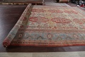 Palace Size Pre-1900 Antique Sultanabad Persian Rug 14x24 image 21