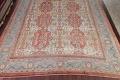 Palace Size Pre-1900 Antique Sultanabad Persian Rug 14x24 image 8