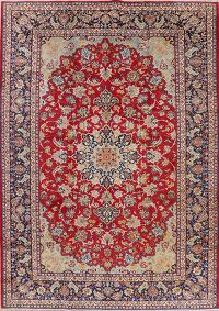 Floral Red Najafabad Persian Area Rug Wool 10x14