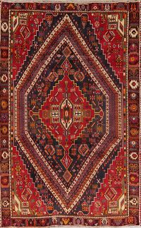 Tribal Geometric Kashkoli Persian Area Rug 6x9