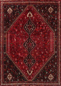 Vintage Tribal Red Lori Persian Area Rug 8x10