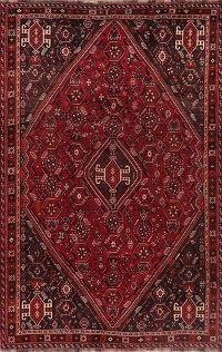 Vintage Tribal Red Lori Persian Area Rug 6x9