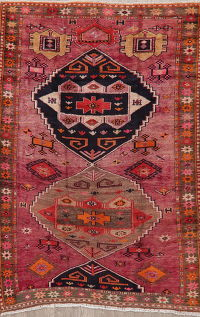 Tribal Geometric Lori Persian Area Rug 5x7