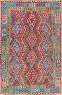 South-West Kilim Turkish Area Rug 7x10