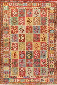 Geometric Kilim Turkish Oriental Area Rug 6x10