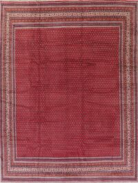 All-Over Red Botemir Persian Area Rug 10x14