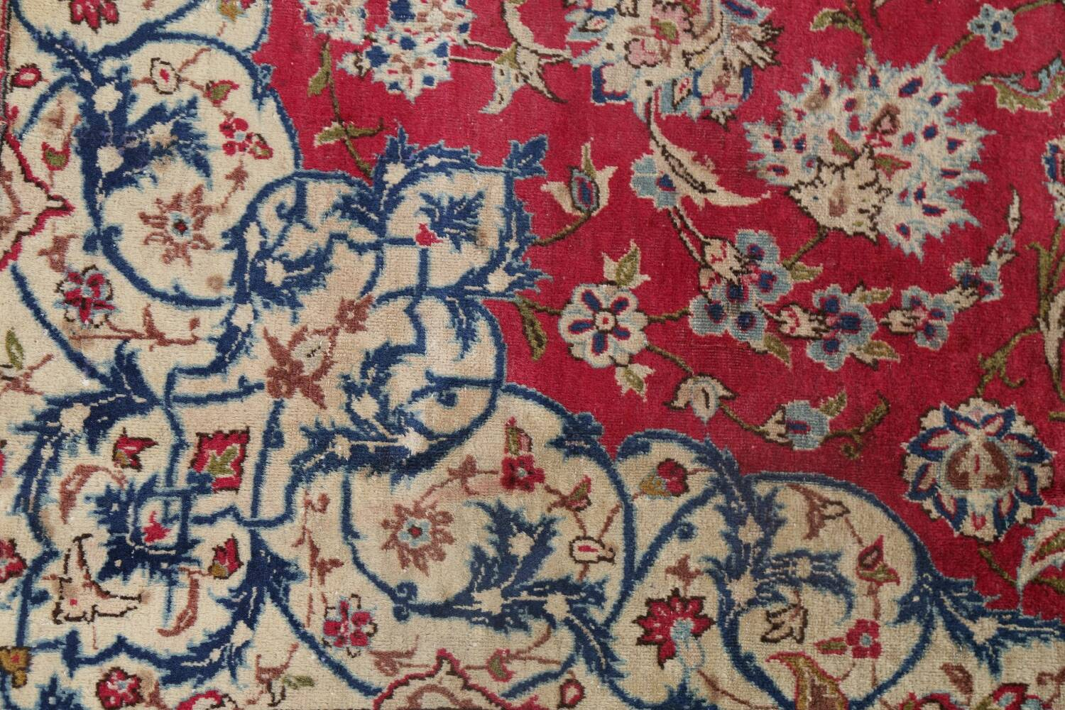 Floral Red Najafabad Persian Area Rug 8x13 image 12