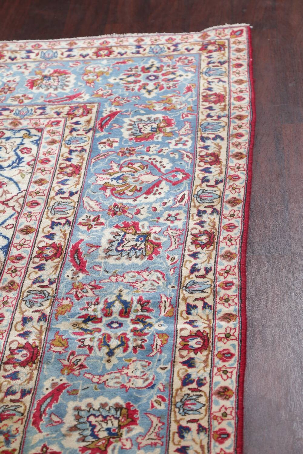 Floral Red Najafabad Persian Area Rug 8x13 image 18