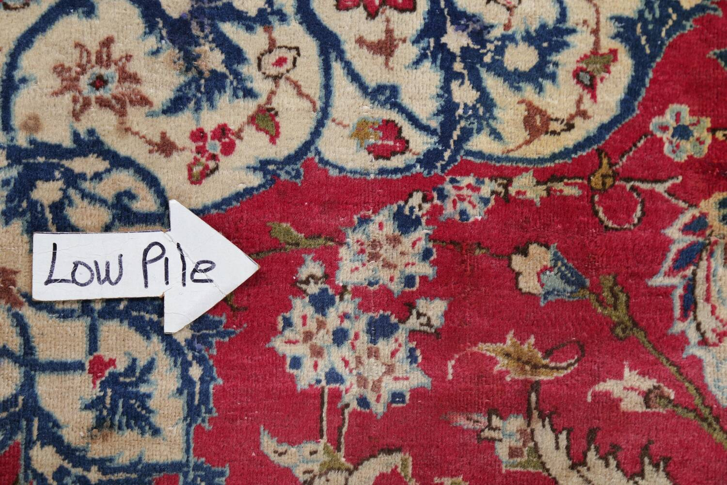 Floral Red Najafabad Persian Area Rug 8x13 image 15