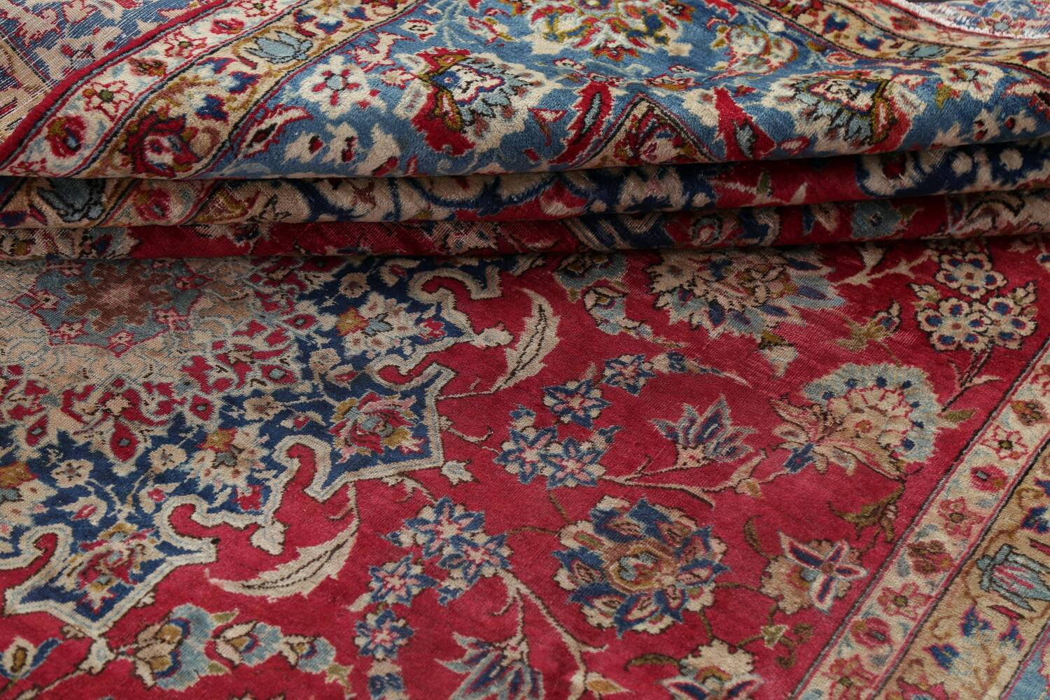 Floral Red Najafabad Persian Area Rug 8x13 image 21