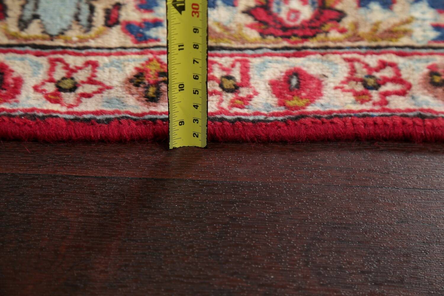Floral Red Najafabad Persian Area Rug 8x13 image 6