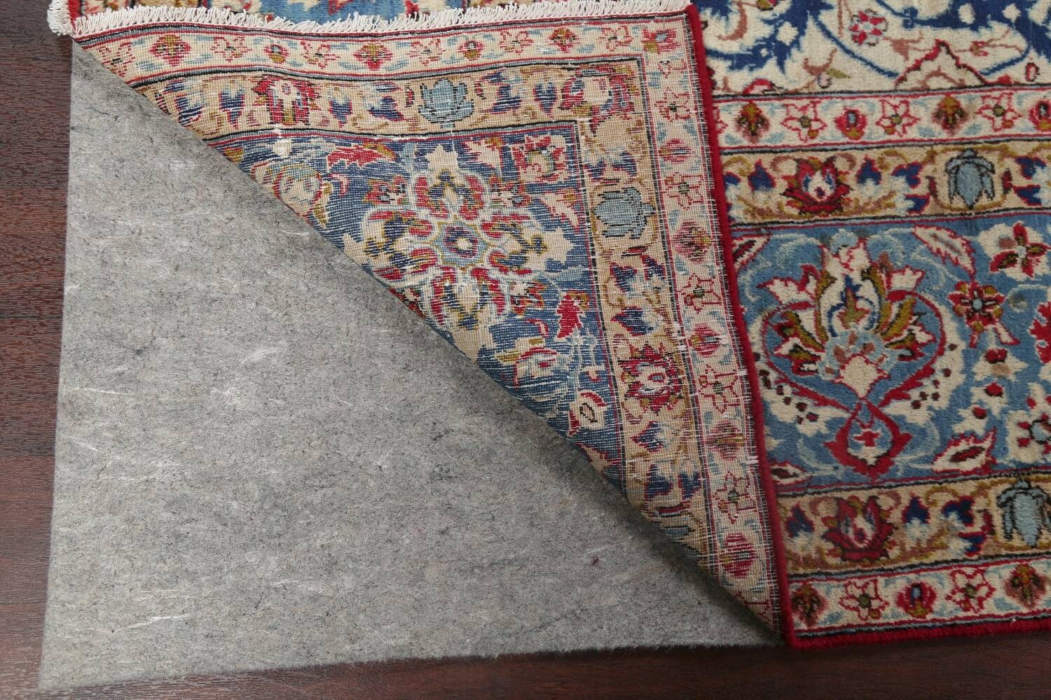 Floral Red Najafabad Persian Area Rug 8x13 image 7