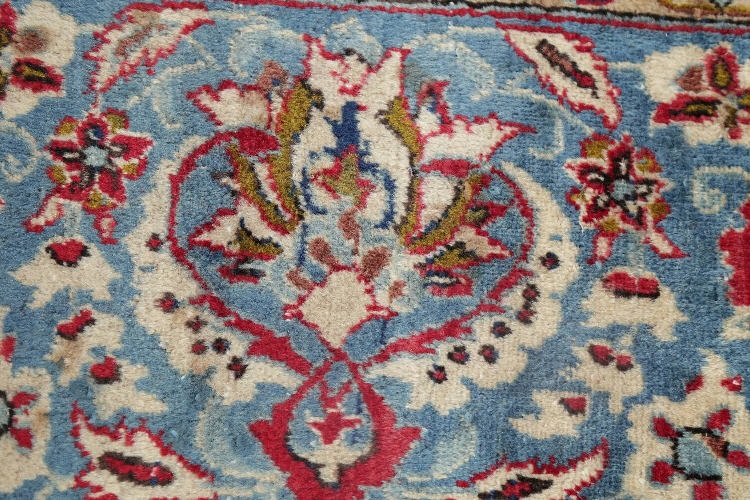 Floral Red Najafabad Persian Area Rug 8x13 image 9
