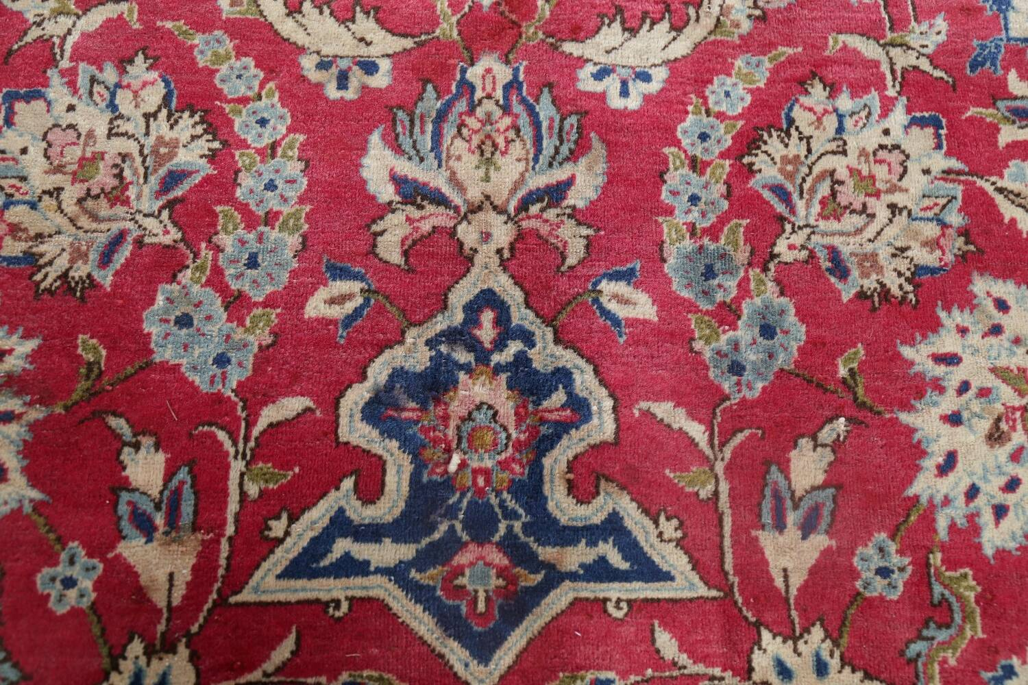 Floral Red Najafabad Persian Area Rug 8x13 image 11