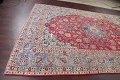 Floral Red Najafabad Persian Area Rug 8x13 image 16
