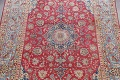 Floral Red Najafabad Persian Area Rug 8x13 image 3