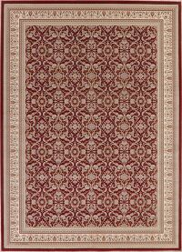 All-Over Red Agra Turkish Area Rug 8x11