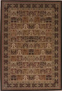 Garden Design Black Bakhtiari Turkish Area Rug 7x10