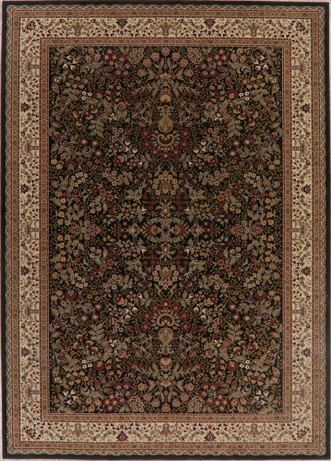 All-Over Floral Agra Turkish Area Rugs image 2